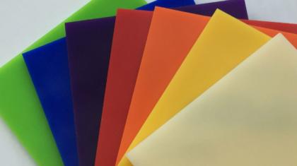 Coloured Acrylic
