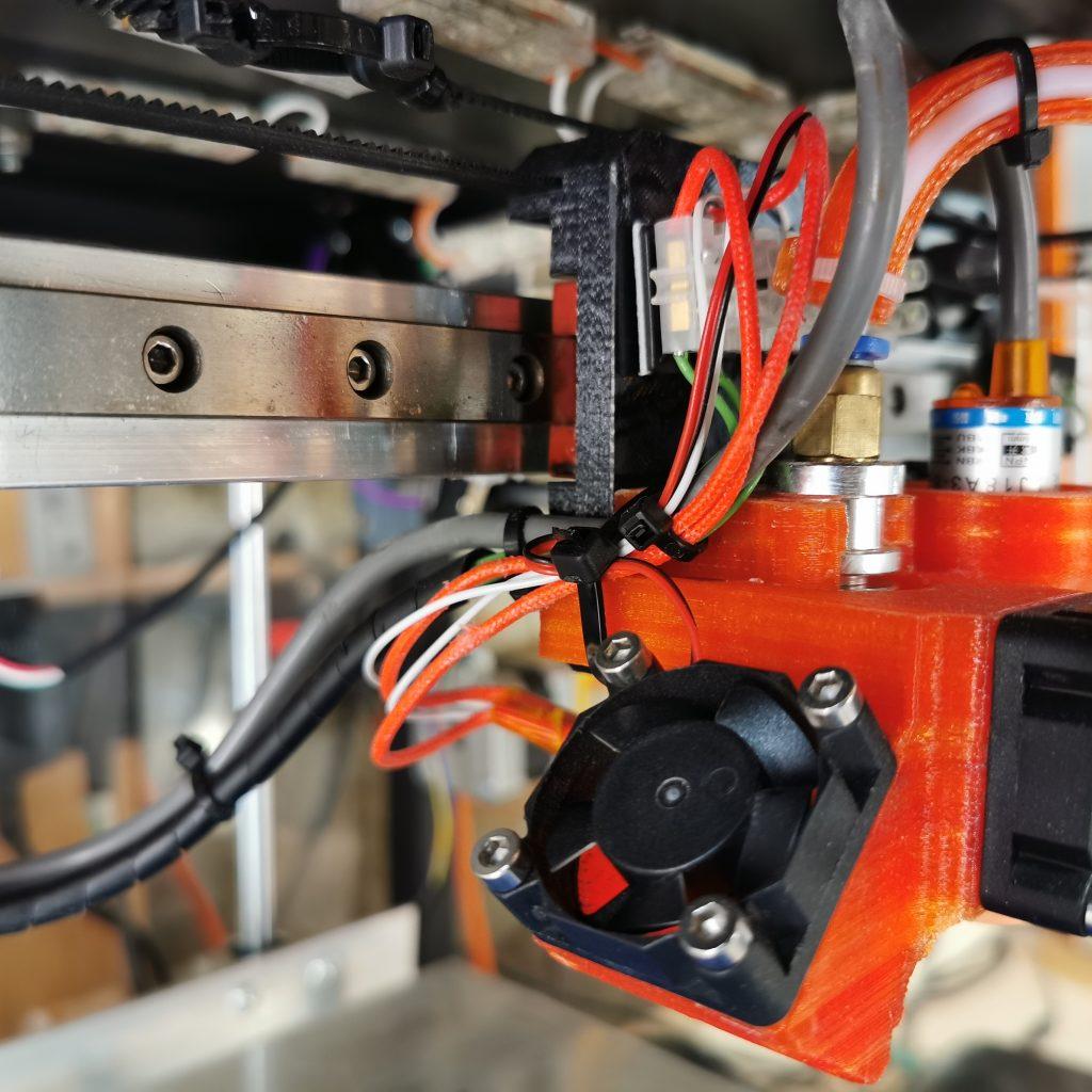 H-Rail Bearing on 3D Printer