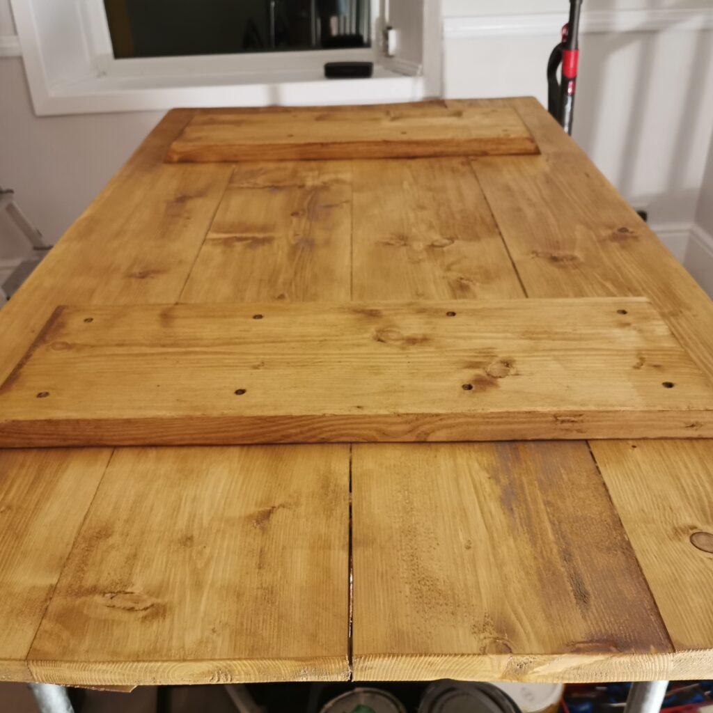 Dining Table Underside